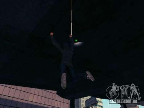 Spiderman Swinging v2.1 para GTA San Andreas por diante tela
