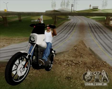 Harley-Davidson FXD Super Glide T-Sport 1999 para GTA San Andreas vista interior