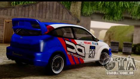 Ford Focus para GTA San Andreas esquerda vista