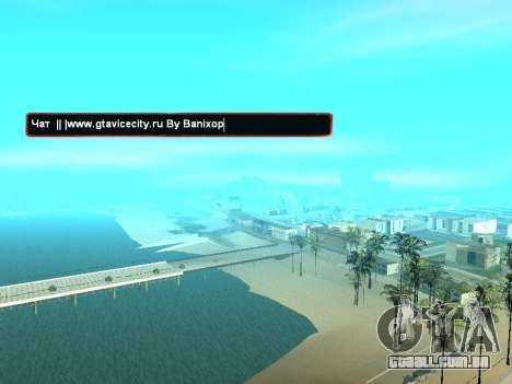 SampGUI clima de Natal para GTA San Andreas segunda tela