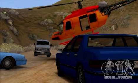 Bandit Maverick para GTA San Andreas esquerda vista