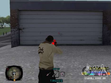 C-HUD Color Tasher para GTA San Andreas terceira tela