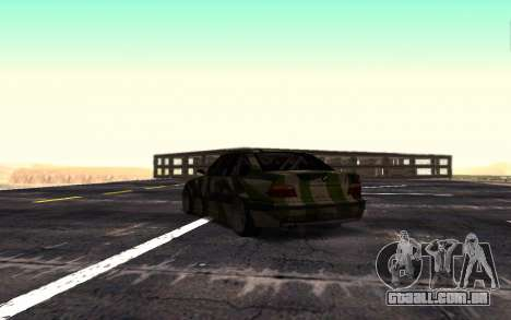 BMW M3 E36 Hunter para GTA San Andreas vista direita