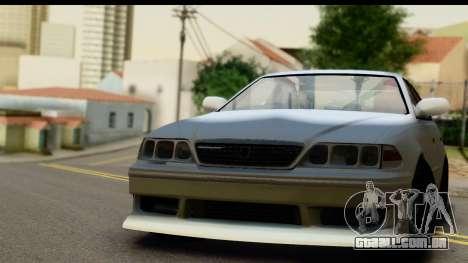 Toyota Mark 2 Sport para GTA San Andreas vista traseira