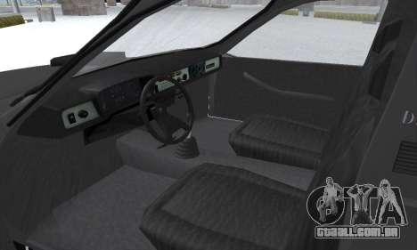 Dacia 1305 Papuc Pick-Up Drop Side 1.9D para GTA San Andreas vista superior