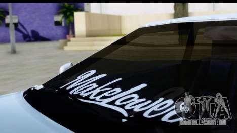 Elegy S14 para GTA San Andreas vista traseira