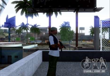 Akmn com CBE para GTA San Andreas segunda tela