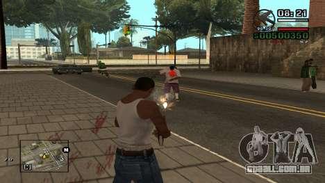C-HUD By.Kidd para GTA San Andreas segunda tela