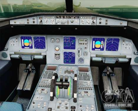 Airbus A321-200 Vorona Aviation para GTA San Andreas vista direita