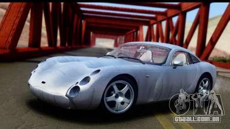 TVR Tuscan S 2001 para GTA San Andreas interior