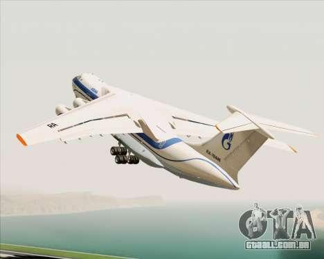 IL-76TD Gazprom Avia para GTA San Andreas