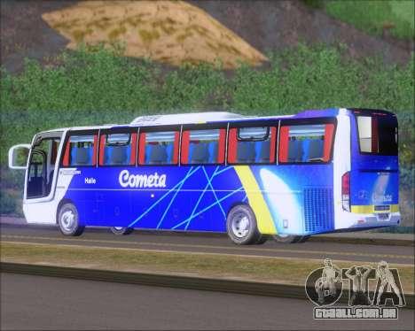 Busscar Vissta Buss LO Cometa para GTA San Andreas vista direita