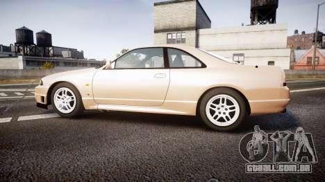 Nissan Skyline R33 GT-R V.spec 1995 para GTA 4 esquerda vista