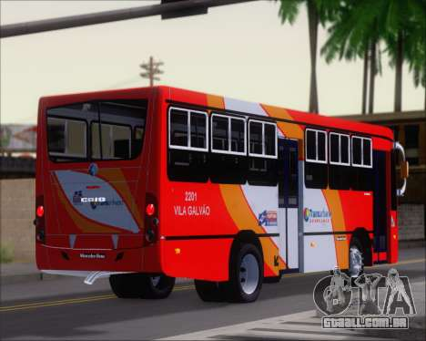 Caio Foz Super I 2006 Transurbane Guarulhoz 2201 para vista lateral GTA San Andreas