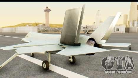F-35B Lightning II Hatsune Miku Version para GTA San Andreas esquerda vista