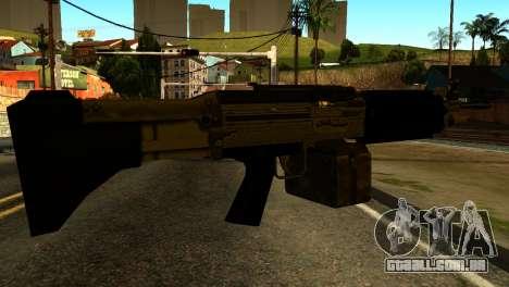 Combat MG from GTA 5 para GTA San Andreas segunda tela