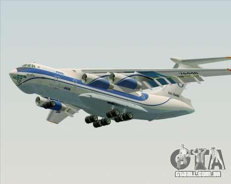IL-76TD Gazprom Avia para o motor de GTA San Andreas