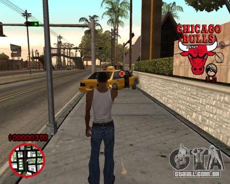 C-HUD by Mefisto para GTA San Andreas segunda tela