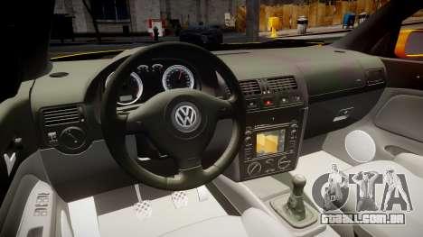 Volkswagen Golf Mk4 Variant para GTA 4 vista de volta