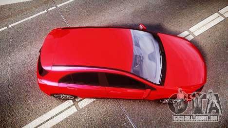 Mersedes-Benz A45 AMG para GTA 4 vista direita