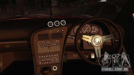 Toyota Celica GT-Four para GTA San Andreas vista interior