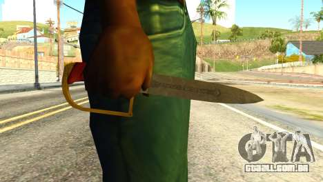 Antique Cavalry Dagger from GTA 5 para GTA San Andreas terceira tela
