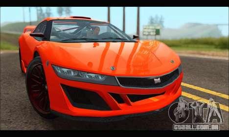 Dinka Jester Racecar (GTA V) para GTA San Andreas