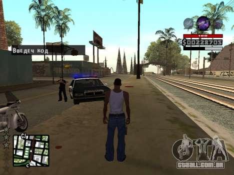 C-HUD by Granto para GTA San Andreas terceira tela