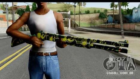 Grafiti Shotgun para GTA San Andreas terceira tela