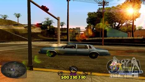 C-HUD Barcelona para GTA San Andreas segunda tela