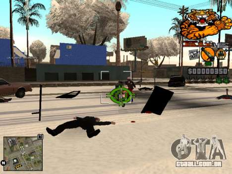 C-HUD King para GTA San Andreas por diante tela