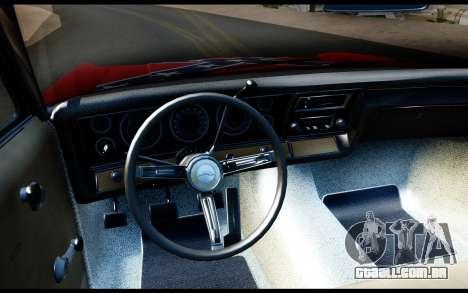 Chevrolet Impala para GTA San Andreas vista direita