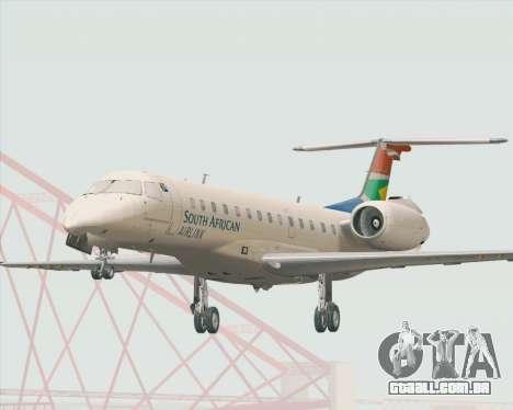 Embraer ERJ-135 South African Airlink para GTA San Andreas