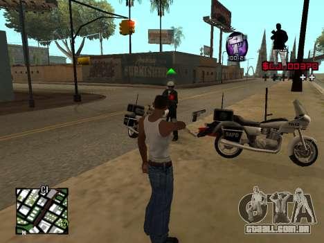 C-HUD by Alesha para GTA San Andreas terceira tela