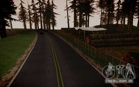 Fourth Road Mod para GTA San Andreas sétima tela