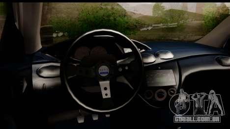 Ford Focus para GTA San Andreas vista direita