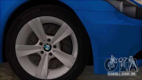 BMW 520i E60 para GTA San Andreas traseira esquerda vista