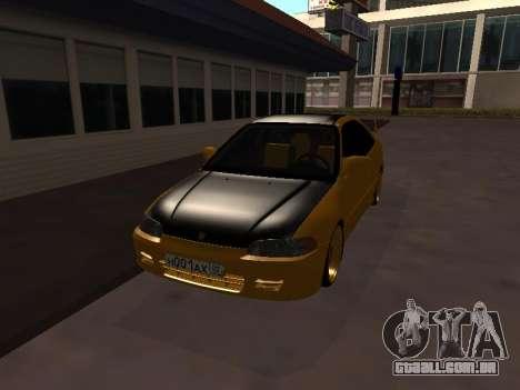 Honda Civic para GTA San Andreas esquerda vista