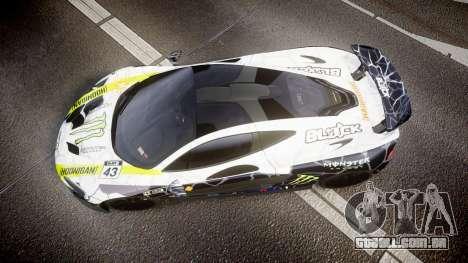 McLaren P1 2014 [EPM] Ken Block para GTA 4 vista direita