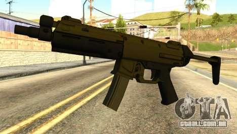 MP5 from GTA 5 para GTA San Andreas