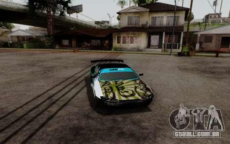 Nissan Silvia S15 v3 para GTA San Andreas traseira esquerda vista