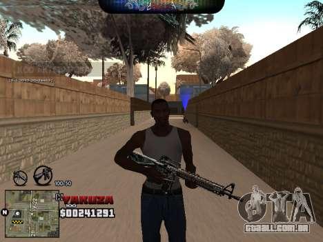 C-HUD Yakuza para GTA San Andreas segunda tela