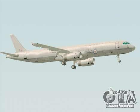 Airbus A321-200 Royal New Zealand Air Force para GTA San Andreas