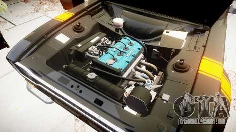 Ford Escort RS1600 PJ39 para GTA 4