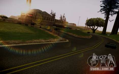 Fourth Road Mod para GTA San Andreas terceira tela