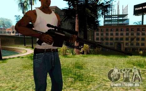 Cheytac M200 Black para GTA San Andreas segunda tela
