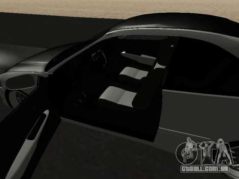 Honda Civic para GTA San Andreas vista interior