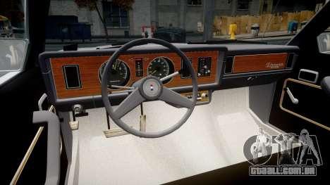 Ford Fairmont 1978 v1.1 para GTA 4 vista de volta