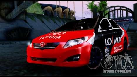 Toyota Corolla 2012 LOJACK Racing para GTA San Andreas