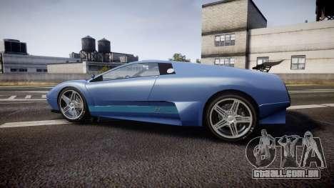 Pegassi Infernus GTA V Style para GTA 4 esquerda vista
